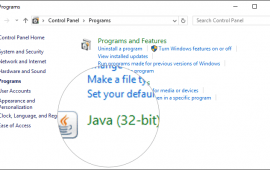 How to enable the Java Console on Windows
