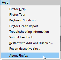 How to update Firefox | Tech Help Knowledgebase