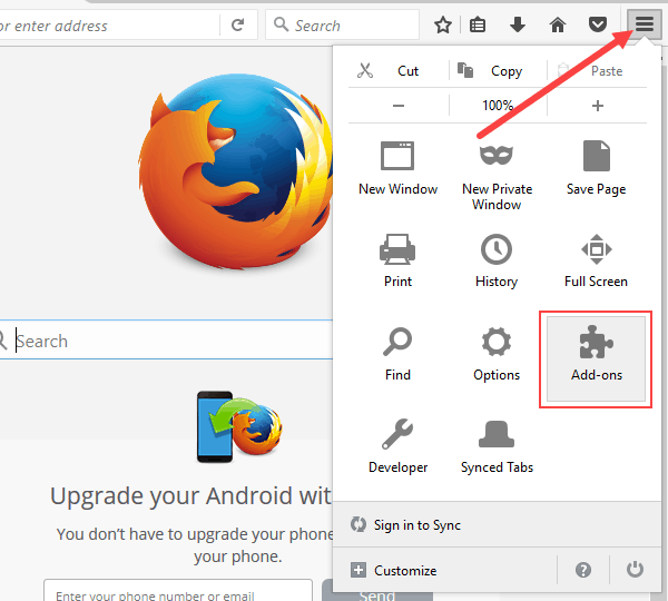 enable and disable java in firefox