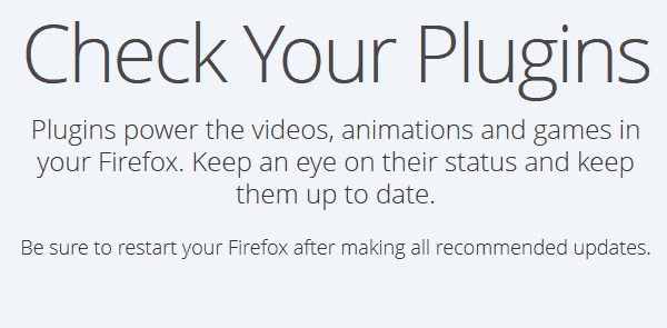 How to check and update Firefox plugins | Tech Help KB
