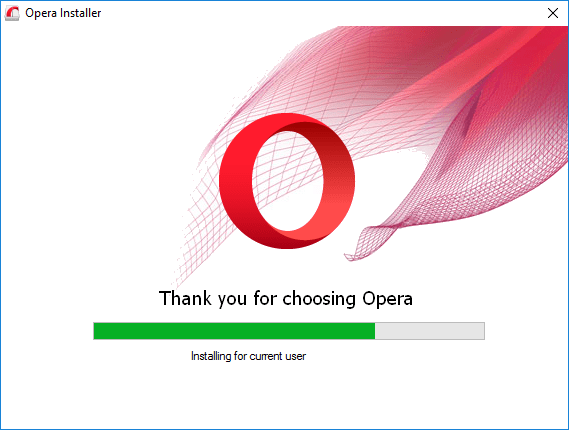 update Opera web browser