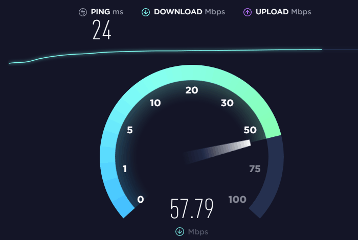 test your Internet connection speed