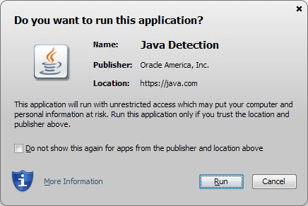 do you want to run this application