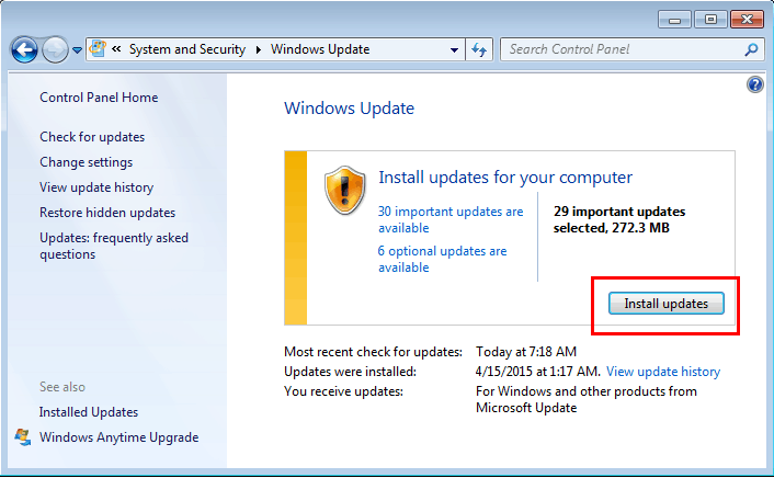 Microsoft Patch Tuesday May 2015