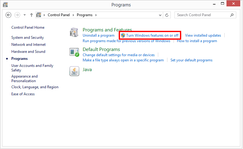 how to enable telnet in Windows