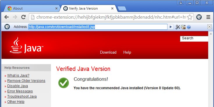 How to enable Java in Google Chrome 45