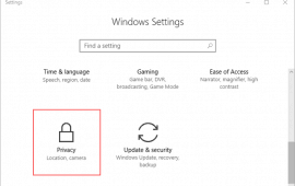 How to disable the Windows 10 keylogger