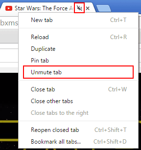 How to mute tabs in Google Chrome
