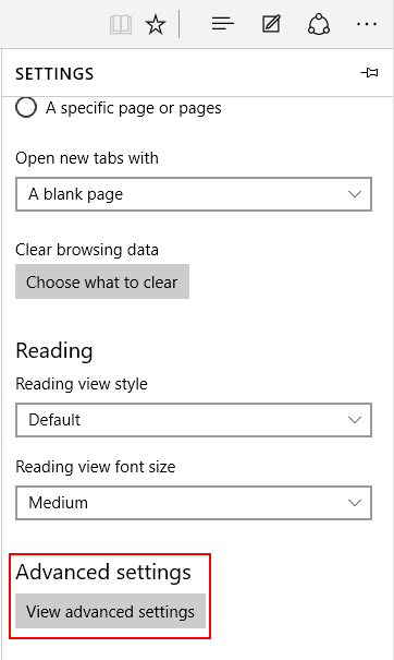 How to change the default search engine in Microsoft Edge