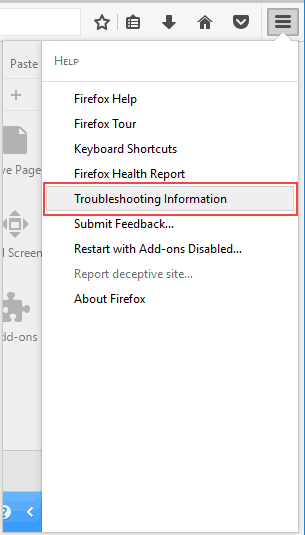 reset Firefox to its default settings