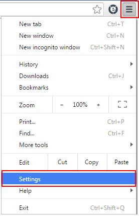 delete cookies in Chrome