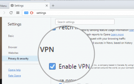 How to use free Opera VPN