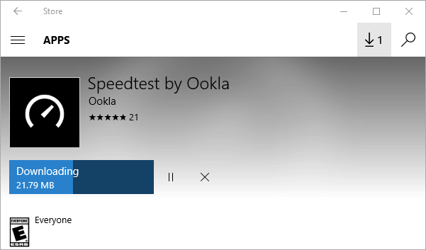 free Windows 10 speed test app