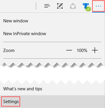 change the Microsoft Edge downloads location