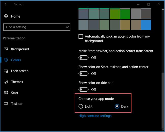 How to enable Windows 10 Dark Mode   Tech Help Knowledgebase
