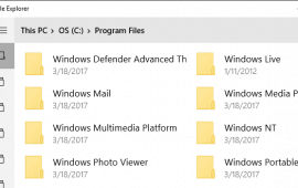 How to access the UWP File Explorer app on Windows 10