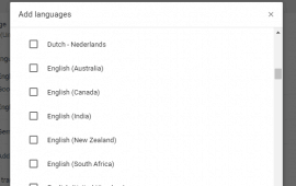 How to change languages in Google Chrome