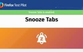 How to snooze tabs in Firefox