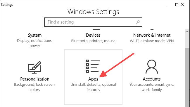 change the default Windows 10 web browser app