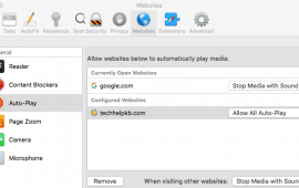 How to allow websites to auto-play video in Safari