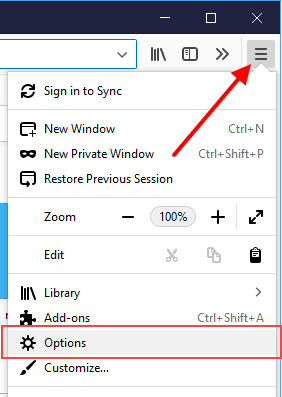 control and change the Firefox address bar search results