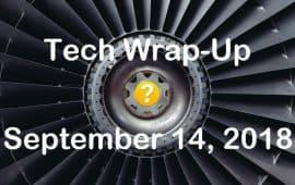 Tech Wrap-Up 9-14-2018