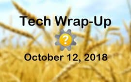 Tech Wrap-Up 10-12-2018