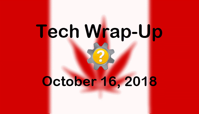 Tech Wrap-Up 10-16-2018