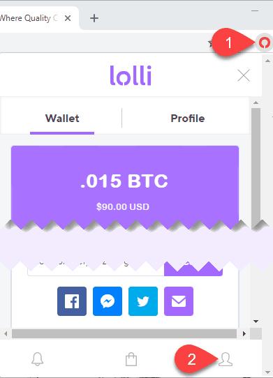 Earn free Bitcoin when shopping