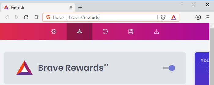 Enable Brave Rewards