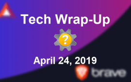 Tech Wrap-Up 4-24-2019