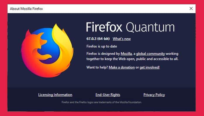 Firefox 67.0.3 Released