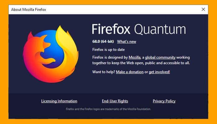 Firefox 68 0 Released | Tech Help Knowledgebase