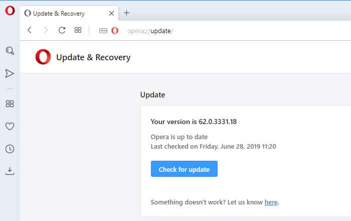 How to update Opera web browser | Tech Help KB