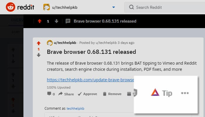 Brave Browser 0.68.131 Released