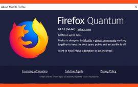 Firefox 69.0.1 Released